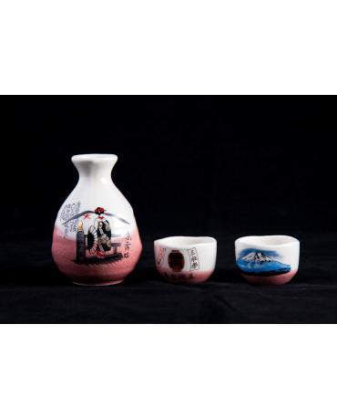 Set sake Sakura Kasumi