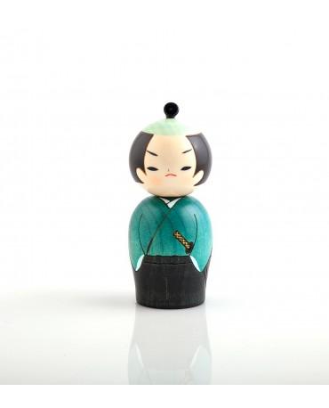 Papusa Kokeshi Samurai