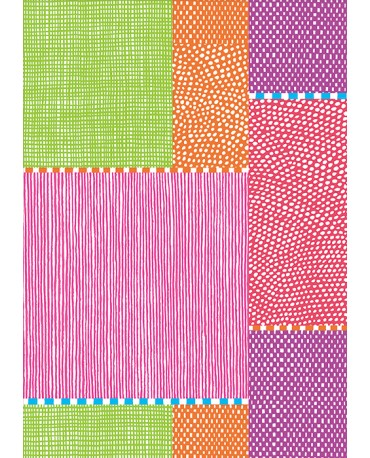 DOTS AND STRIPES (PLAIN NOTEBOOK) / KATSUJI WAKISAKA