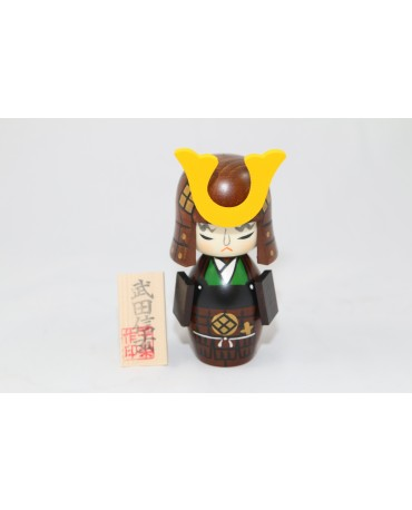PAPUSA TRADITIONALA LEMN (KOKESHI) TAKEDA SHINGEN