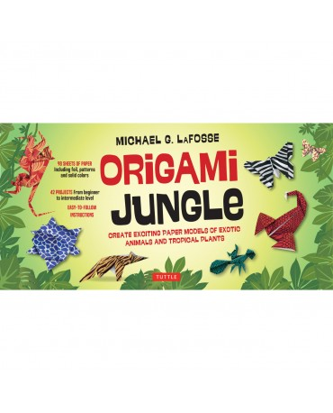 ORIGAMI JUNGLE KIT [2 BOOKS, 98 PAPERS, 42 PROJECTS]