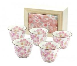 Set 5 cani ceai Hana Matsuri