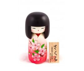 Papusa traditionala Kokeshi Sakura