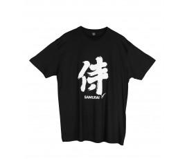 Tricou kanji Samurai negru
