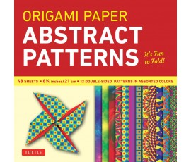 ORIGAMI ABSTRACT PATTERNS  21cm 48 SHEETS