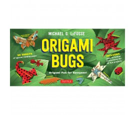ORIGAMI BUGS KIT [2 BOOKS, 98 PAPERS, 20 PROJECTS]
