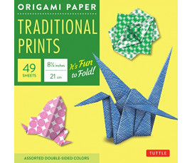 ORIGAMI PAPER TRADITIONAL PRINTS