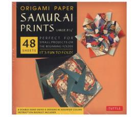 ORIGAMI PAPER - SAMURAI PRINTS - LARGE
