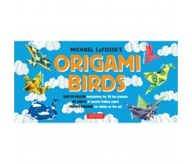 ORIGAMI BIRDS KIT [2 BOOKS, 98 PAPERS, 20 PROJECTS]