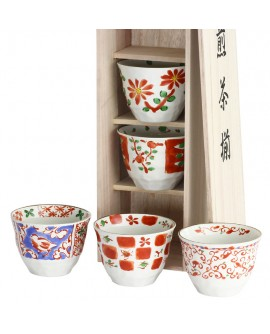 Set 5 cani ceai Akamatsu