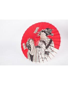Umbrela traditionala Ukiyoe
