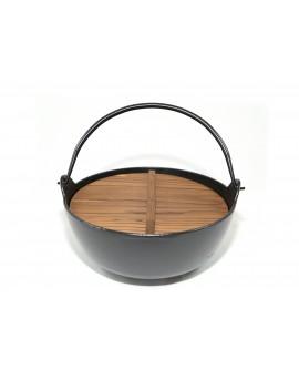 Ceaun de fonta Yamaga 24cm 3 litri