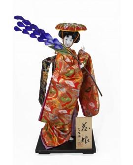 Papusa traditionala lux Fujimusume